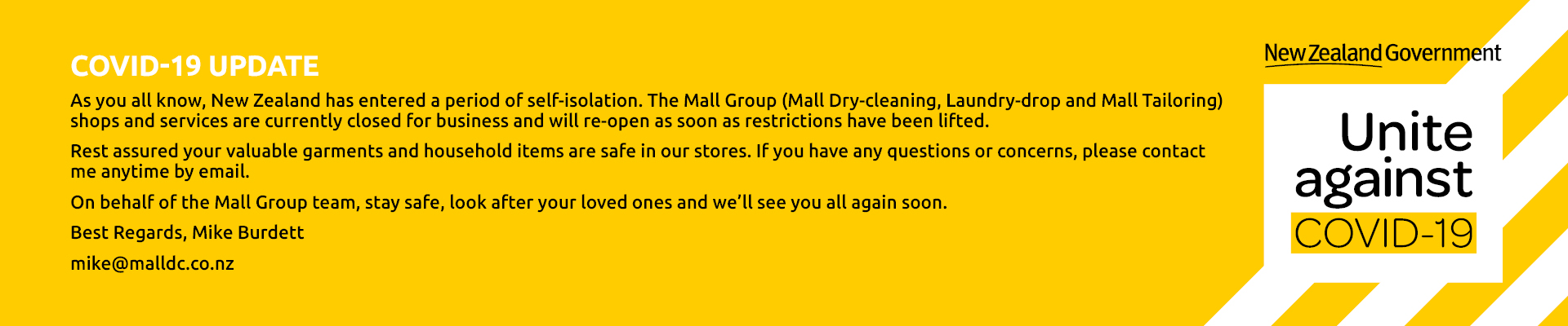 Mall Group Covid-19 Update